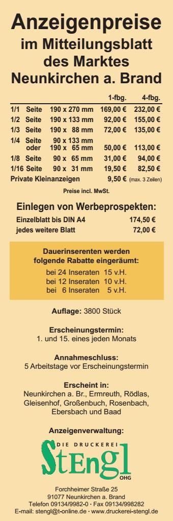 Neunkirchen a. Brand Kaltwintergarten